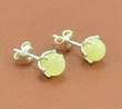 Amber Stud Earrings with Butterscotch Baltic Amber