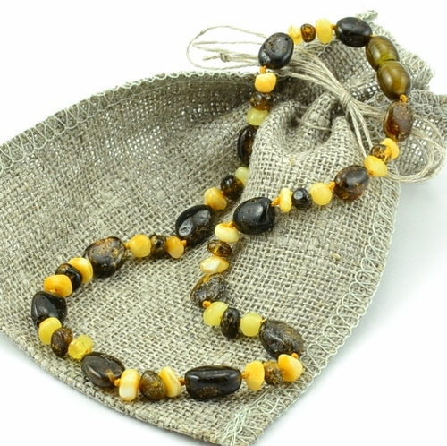 Amber teething necklace - SOLD OUT