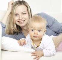 Amber Teething Necklaces with perfect companion for Mom