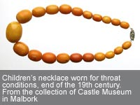 Amber Teething Necklace - an age old tradition with a new twist
