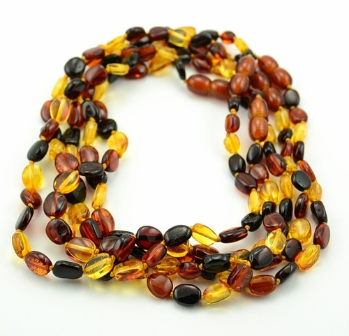 Amber teething necklaces - SOLD OUT