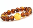 Amber Bracelet Made of Amazing Baltic Amber