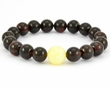 Amber Bracelet with cherry and butterscotch Baltic Amber