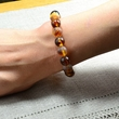 Amber Bracelet with Polished and Matte Healing Amber