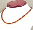 Amber Necklace with Cognac Healing Amber