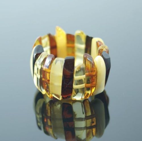 Amber Stretch Ring - SOLD OUT