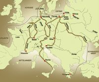 Baltic Amber Trade Routes
