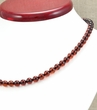 Amber Necklace with Light Cherry Healing Amber