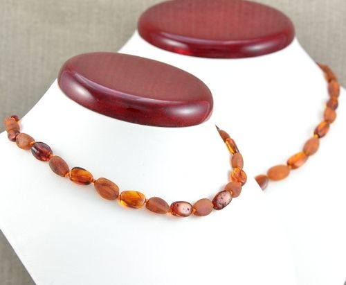 Children's Amber Necklace with perfect companion for Mom