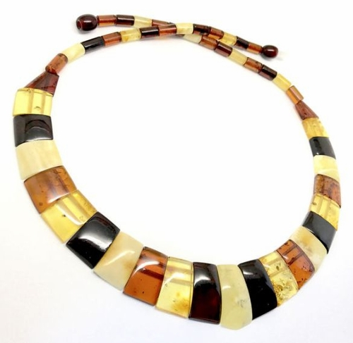 Cleopatra Amber Necklace Made of Amazing Healing Baltic Amber