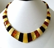 Cleopatra Amber Necklace with Baltic Amber