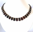 Cleopatra Amber Necklace with Cherry Baltic Amber - 19 inches long