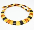 Cleopatra Baltic Amber Necklace - 18 inches long