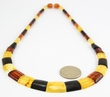 Cleopatra Amber Necklace with Baltic Amber - 19 inches long