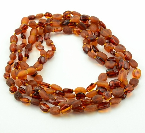 Lot of 10 cognac amber teething necklaces - SOLD OUT