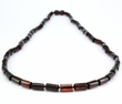 Men's Necklace with Cherry Baltic Amber