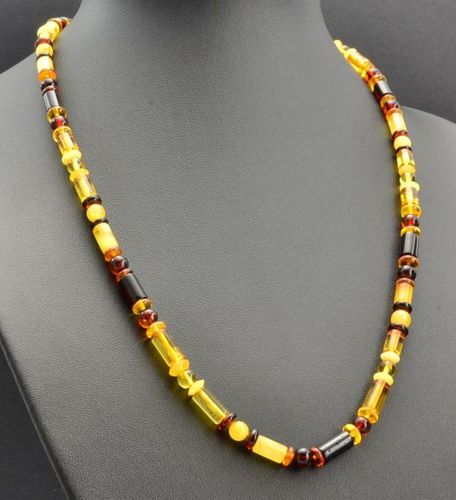Men's Necklace Made of Amazing Healing Baltic Amber