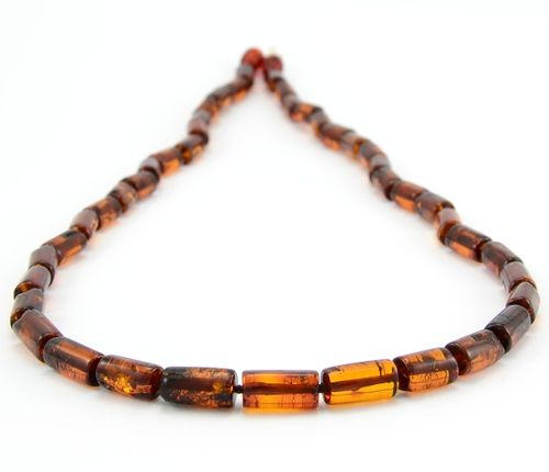Men's Necklace Made of Amazing Baltic Amber