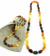 Amber teething necklace with perfect companion for Mom - SOLD OUT