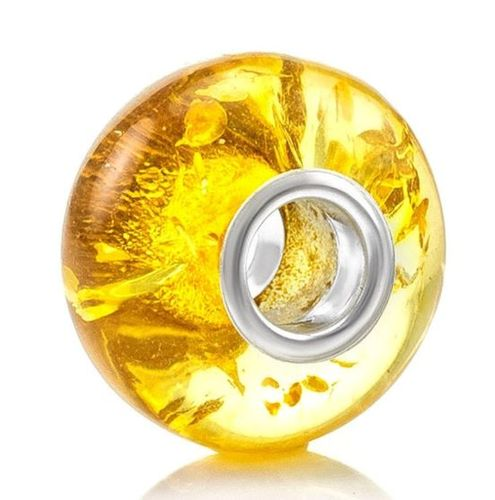 Set of 10 Amber Pandora Style Charm Beads - SOLD OUT