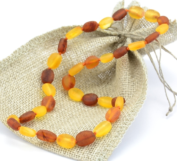 Raw Amber Teething Necklace Reduce Teething Pain Naturally For Your