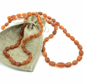 Genuine Baltic Amber Teething Necklaces For Mom And Baby