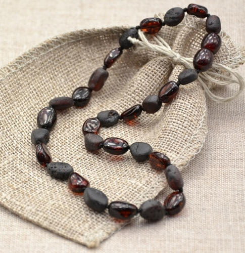 Cherry Teething Amber Necklace - SOLD OUT