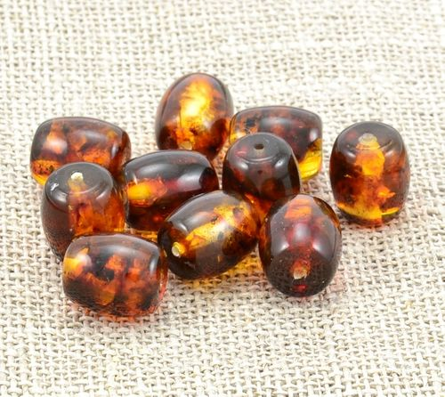 Wholesale Tube Shape Baltic Amber Beads - SOLD OUT