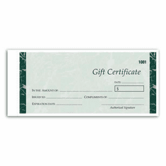 $100.00 Gift Certificate