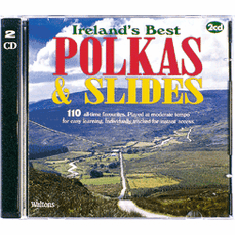 110 Ireland's Best Polkas & Slides Double CD Pack