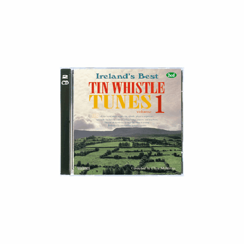 110 Ireland's Best Tin Whistle Tunes Double CD Pack