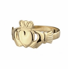 14K Gold Classic Claddagh Ring