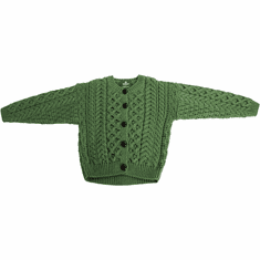 Aran Toddlers Cardigan