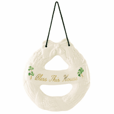 Belleek Christmas Wreath Decoration