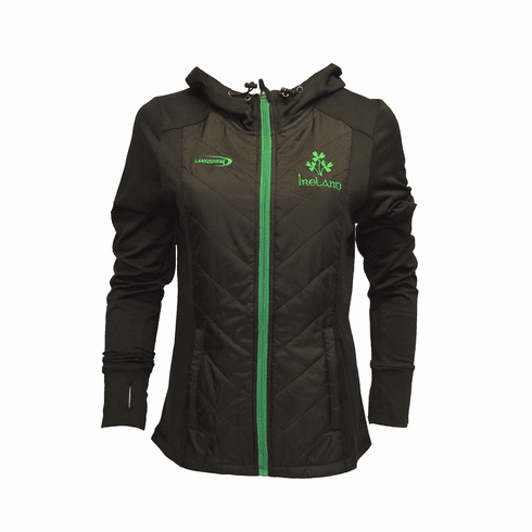 Black Ireland Quilted Performance Ladies Jacket
