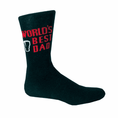 Black/Red Guinness Dad Socks