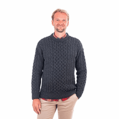 Blasket Honeycomb Stitch Aran Sweater