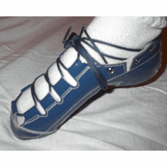 Blue Celtic Choice Patent Leather Ghillie
