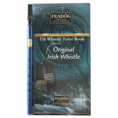 Blue Brass D Tin Whistle and Tutor Book