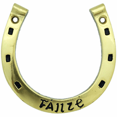 Brass Horseshoe Wall Plaque