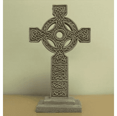 Brown Standing Celtic Cross