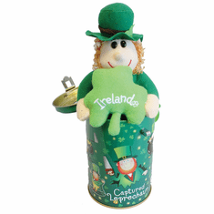 Captured Leprechaun in a Can