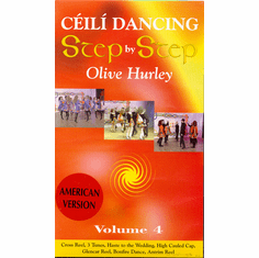 Ceili Dancing Step By Step Olive Hurley Volume 4 DVD