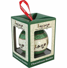 Celtic Blessing Christmas Bauble
