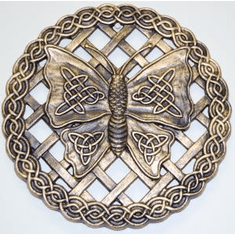 Celtic Butterfly Stepping Stone