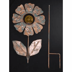 Celtic Copper Yard Art Garden Stake