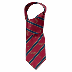 Red and Navy Book of Kells Stripe Tie