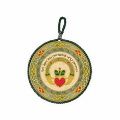 Claddagh Ring Hanging Wall Plaque