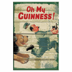 Classic Guinness Wooden Wall Sign