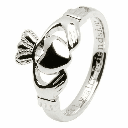 Comfort Fit Classic Claddagh Ring